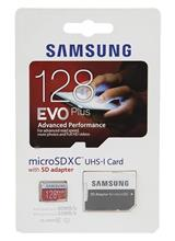 SAMSUNG EVO Plus 128GB UHS-I U1 80MBps MicroSDXC Memory Card with Adapter